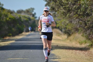 Bernadette on way to breaking w45 national record by 17min54 sec